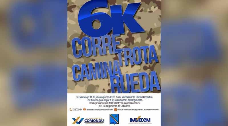 "Invitan a la carrera 6k ""Corre, Trota, Camina, Rueda"""
