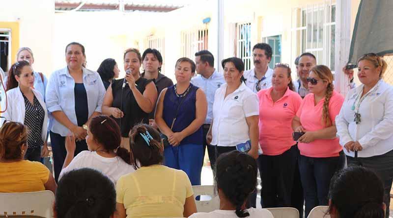 Termina la semana de la prevención con la mujer en el centro de readaptación social