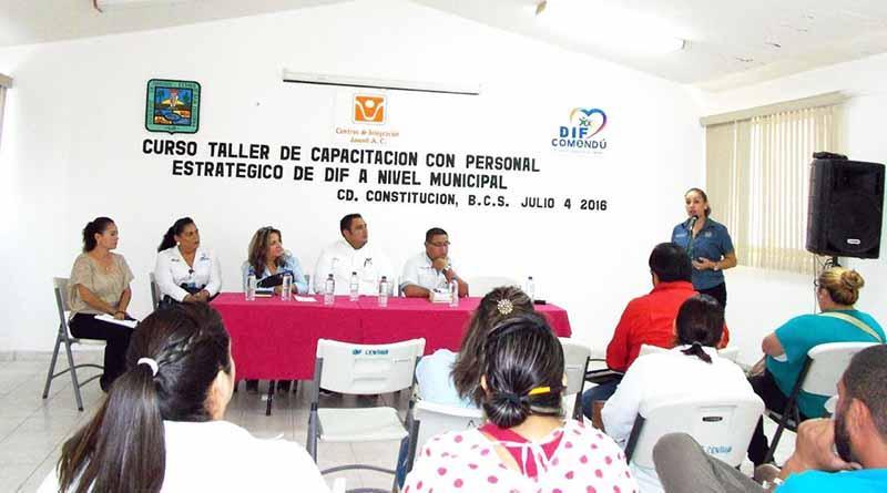 Se lleva acabo curso taller por expertos del Consejo de Integración Juvenil A.C.