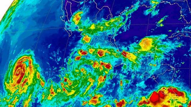 Continúa intensificándose en el Pacífico la depresión tropical 5-E