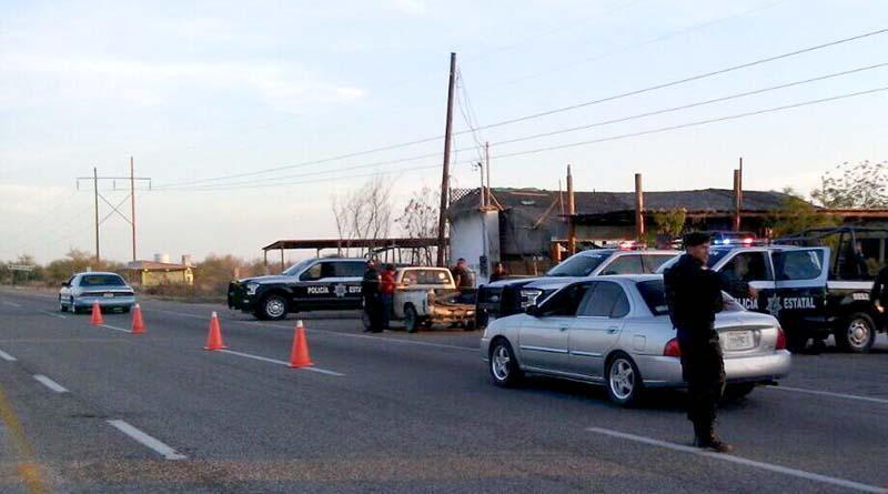 Interceptan camioneta con 40 kilos de marihuana en la carretera La Paz-San Pedro