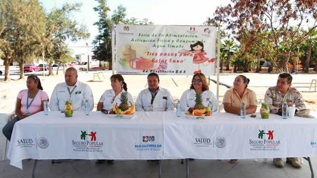 """Arranque de la """"Feria de la Alimentación, Activación Física y Consumo de Agua Simple"""""""
