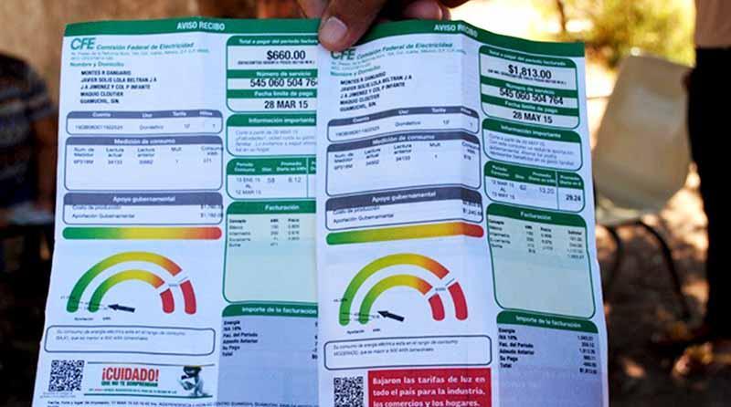 Suben tarifas eléctricas entre el 2 y el 7 por ciento para los sectores doméstico, comercial e industrial