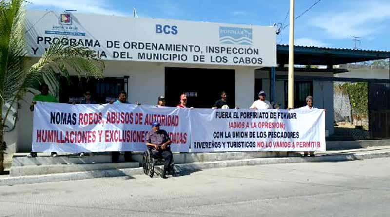 Titular de Fonmar en Los Cabos viola la ley al ser socio de cooperativa: Pescadores de la Playa