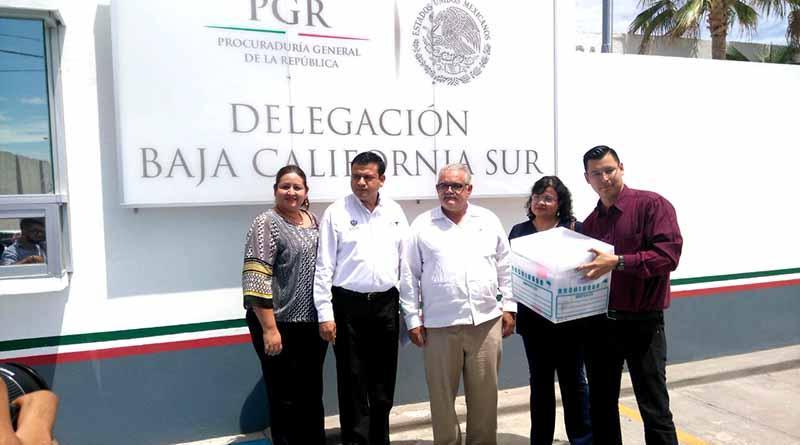 Presenta Ayuntamiento de La Paz denuncias ante PGR contra Esthela Ponce y su gabinete por peculado por 70 mdp