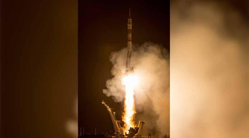 Lanzan con éxito nueva nave Soyuz rumbo a la estación espacial