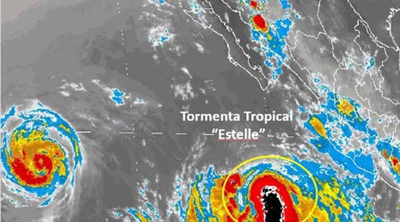 Estelle podría convertirse en huracán en próximas horas, alerta SMN