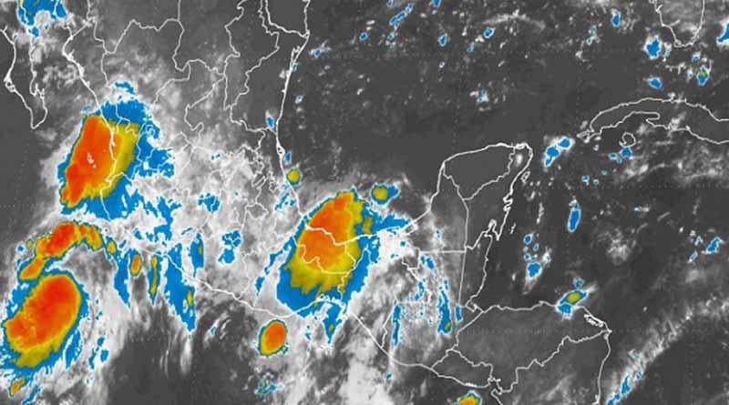 """Presencia de """"Frank"""" propiciará tormentas en la mayor parte del país"""