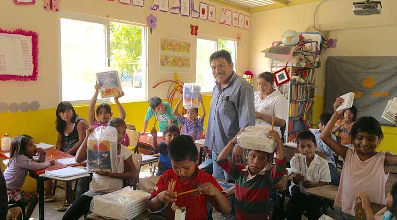 Recibirán paquetes de útiles escolares más de 19 mil alumnos de escuelas rurales: SEP