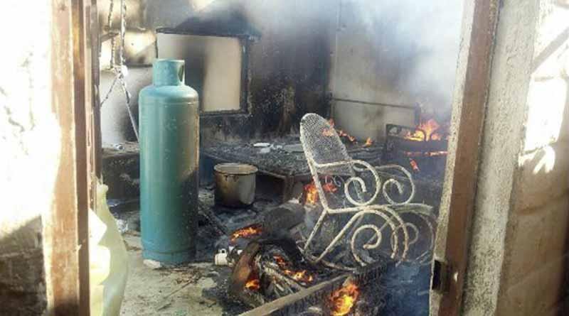Se incendia vivienda en Caduaño, no hubo personas lesionadas