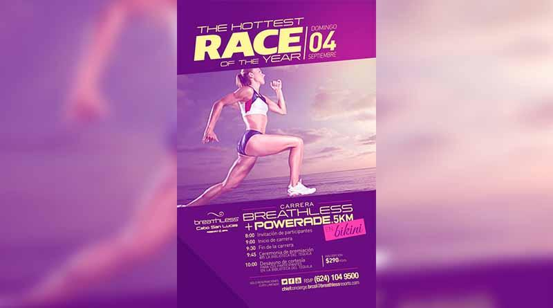 Súmate a la carrera Breathless 5km el próximo domingo 4 de septiembre