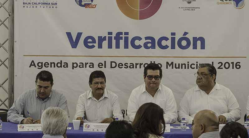 Ayuntamiento de La Paz inicia trabajos del Programa Agenda para el Desarrollo Municipal 2016