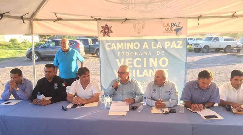 """XV Ayuntamiento de La Paz presenta programa """"Camino a La Paz""""."""