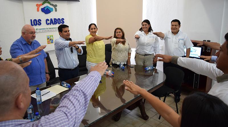Delegado de CSL toma protesta al Patronato Organizador de las Fiestas Patronales 2016