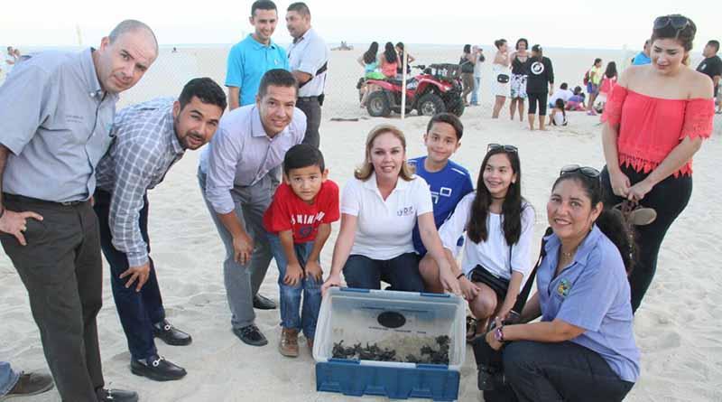 Encabeza Vianey Núñez el inicio de la temporada de liberación de tortugas 2016
