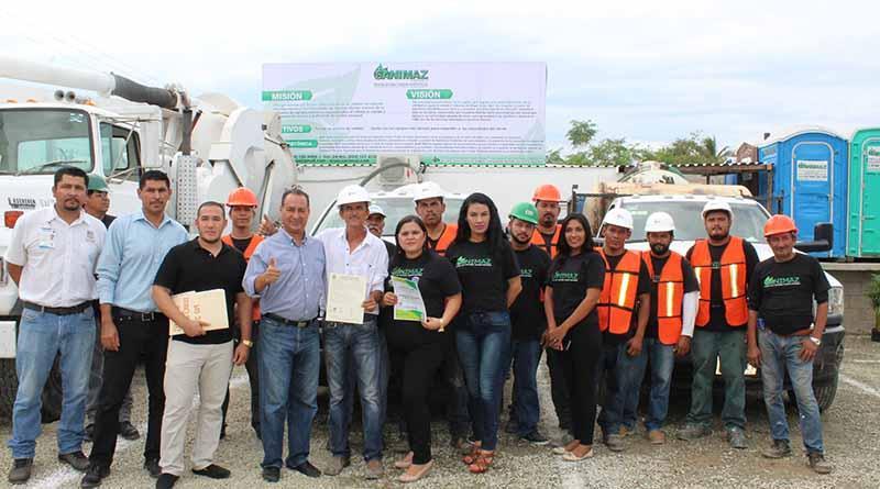 Gobierno de Los Cabos entrega primer Certificado de Calidad Ambiental a la empresa SANI-MAZ