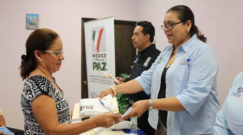 Instituto municipal de la mujer recibe recursos federales del programa nacional para la prevención social de la violencia y de la delincuencia