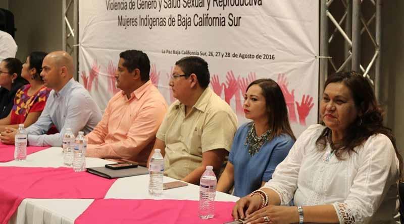 Instituto municipal de la mujer participa en taller de mujeres indígenas en B.C.S.