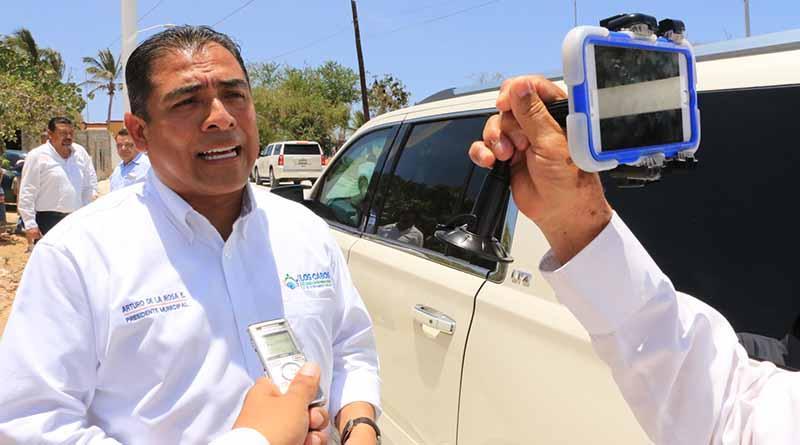 Por consolidar Alcalde de los  Cabos Gestión Federal en CD MX