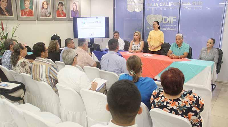 Presente presidenta del DIF Los Cabos en registro de Instituciones de asistencia social del estado