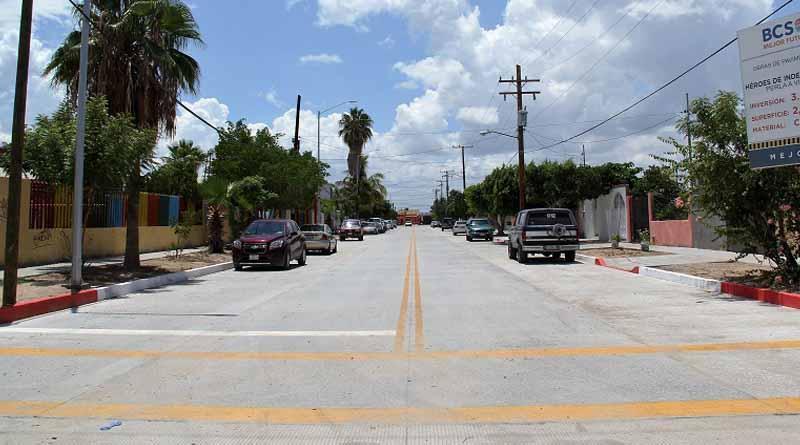 Se consolida el mejor futuro, incrementa a 191 calles el programa estatal de pavimentación