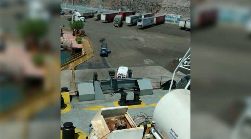 Muere trabajador de barco aplastado por contenedor en Pichilingue