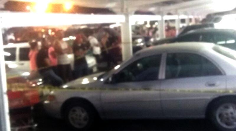 Reportan disparos de arma de fuego en el estacionamiento de centro comercial de CSL
