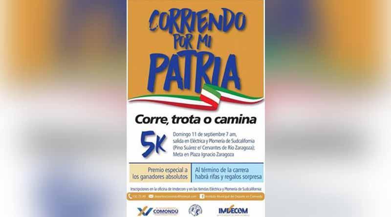 """5k, Corre, Trota o Camina, Denominado """"Corriendo Por La Patria"""""""
