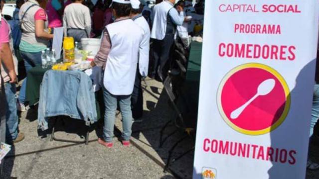 Aumentarán los comedores comunitarios en la Ciudad de México