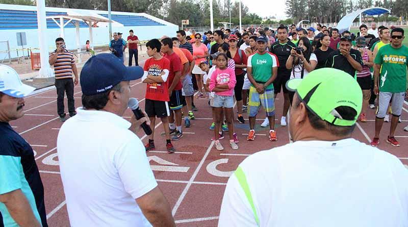 Compromete Alcalde, Francisco Pelayo, seguir Fortaleciendo Infraestructura Deportiva