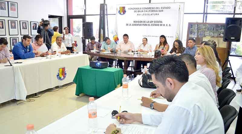 Realizarán consulta estatal para fortalecer legislación sobre los jóvenes en BCS