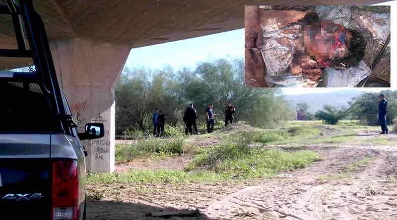 Encuentran hombre ensangrentado bajo un puente de La Paz