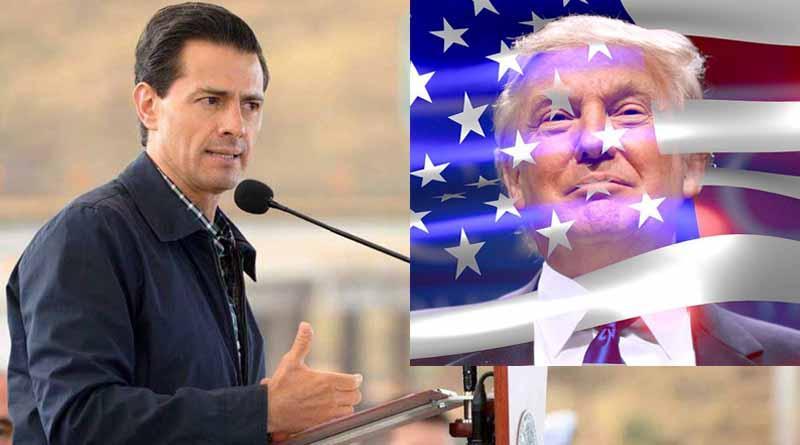 Migración, comercio y drogas temas que discutirán Trump y Peña Nieto
