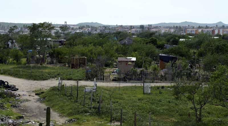Invasión cerca del libramiento de cuota la más grande en Los Cabos: Ejido de CSL