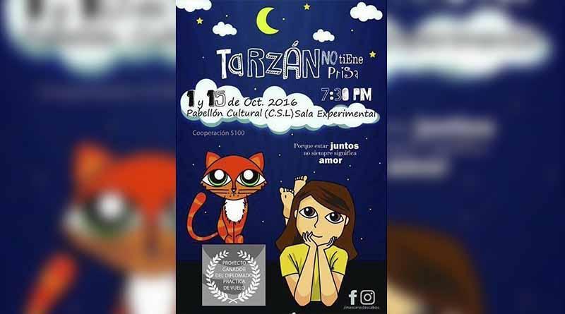 """Compañía teatral Máscaras prepara la producción """"Tarzán no tiene prisa"""""""