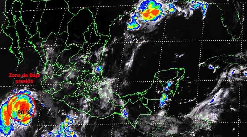 Lloverá con intensidad en al menos seis estados de la República