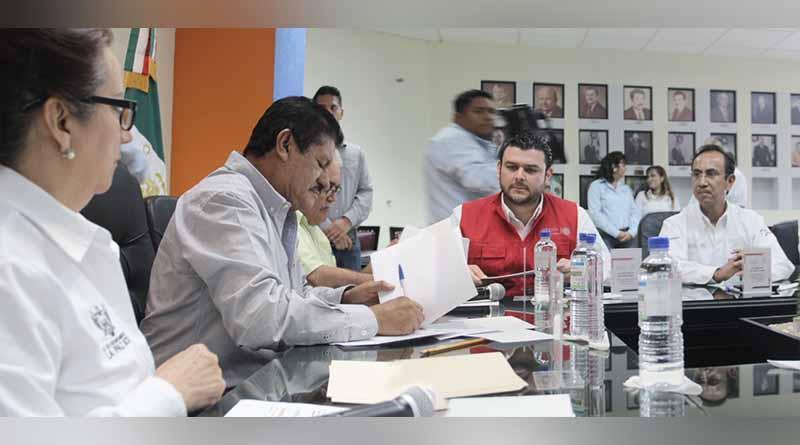 Ayuntamiento firma convenio de colaboración con SEDATU