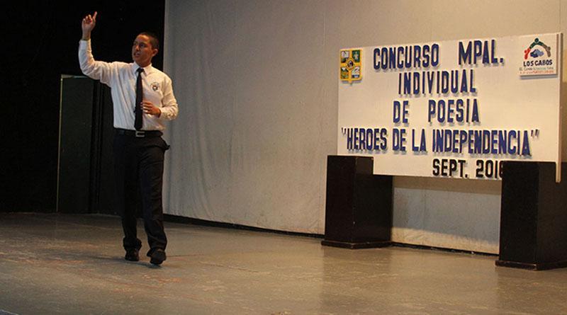 """Concurso municipal de poesía individual """"Héroes de la Independencia"""""""