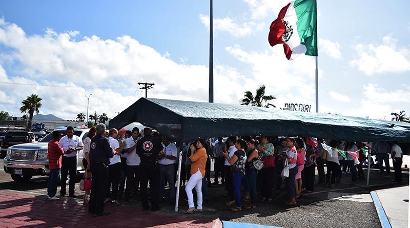 Conmemora delegación de Cabo San Lucas, el Día Nacional de Protección Civil