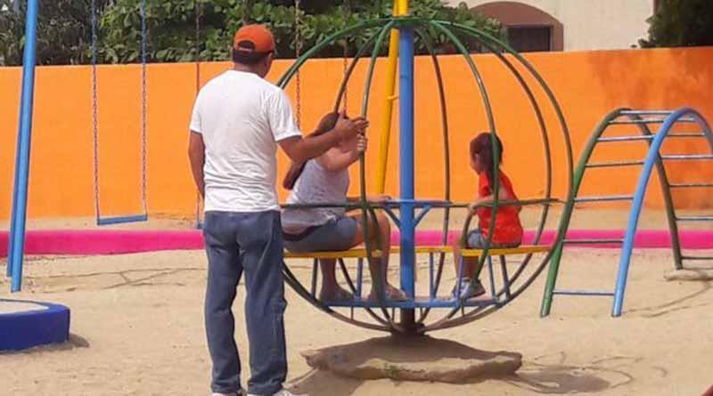 Familias del municipio disfrutan de sus parques rehabilitados: Imagen Urbana