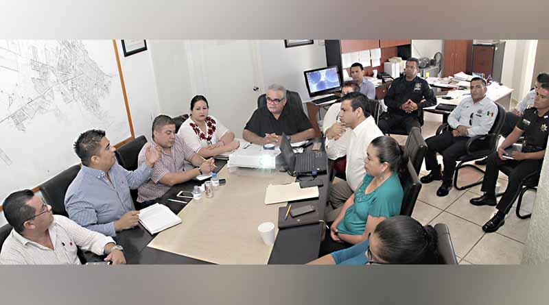 Se reúne Secretario General del Ayuntamiento con Regidores