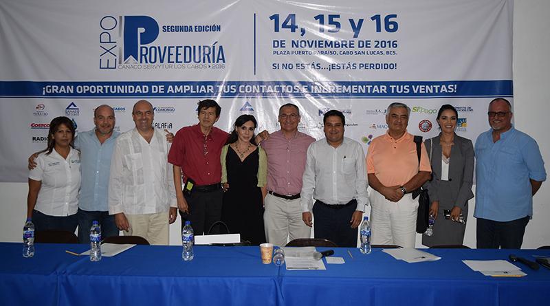 Gobierno de Los Cabos apoya 2da Expo Proveeduría CANACO 2016
