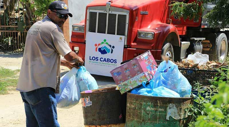 Inicia Gobierno Municipal programa emergente de recolección de basura en SJC y CSL