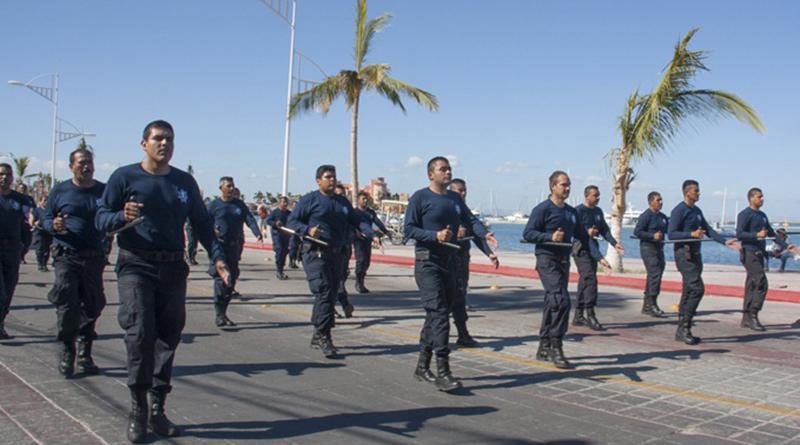 Policía Municipal, lista para el desfile del 16 de Septiembre