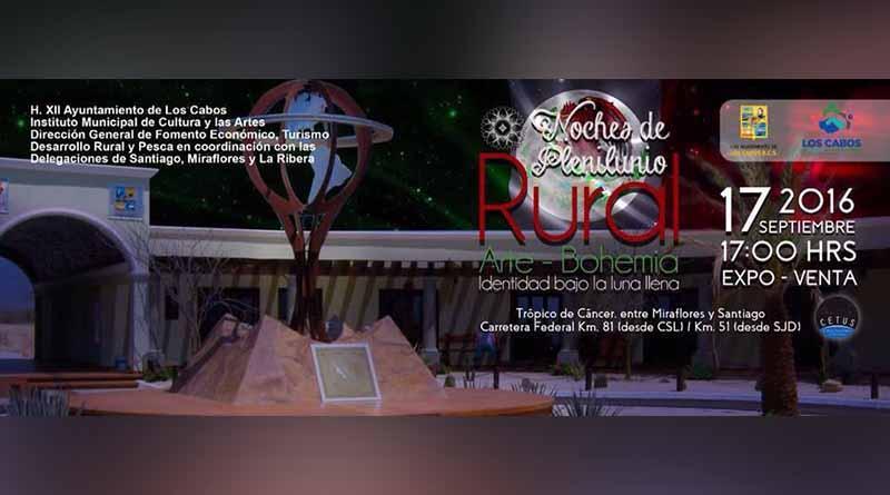 """""""Noches de Plenilunio Rural"""" con motivo del mes patrio"""