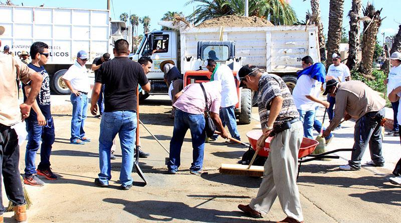 """Pone el ejemplo gobierno municipal para recobrar imagen de Los Cabos tras """"Newton"""""""