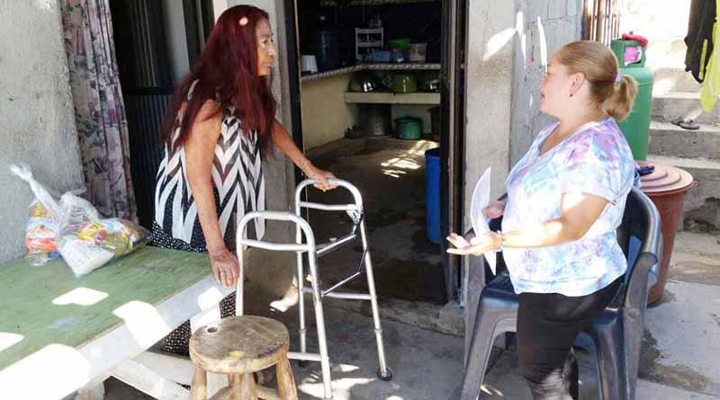 Realiza Coordinación de Discapacidad Visitas Domiciliarias En SJC