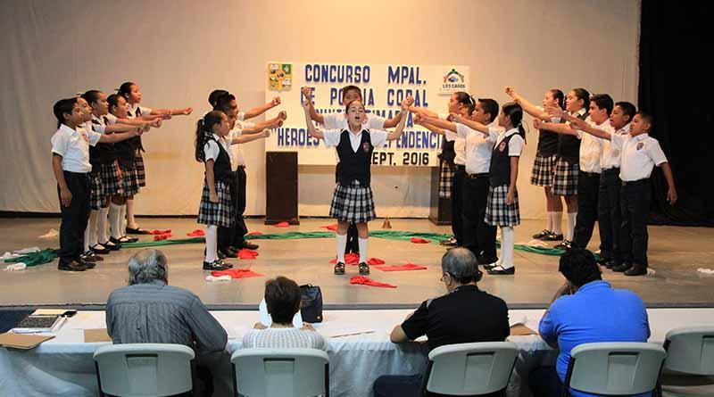 """Realizan concurso municipal de Poesía Coral """"Héroes de la Independencia"""""""