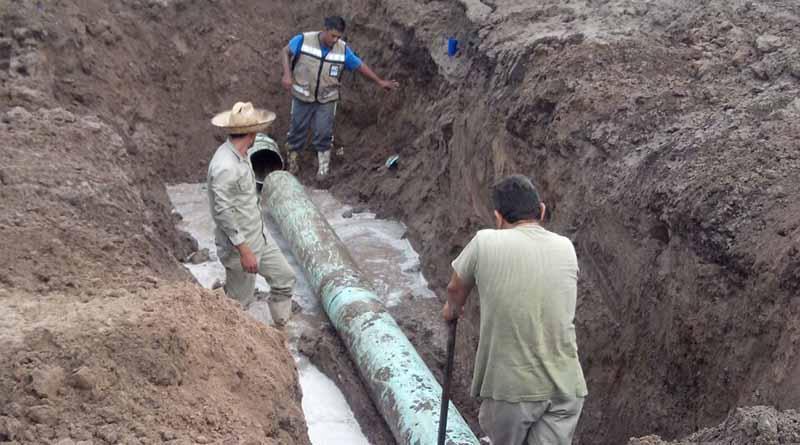 El servicio de agua se restablece en diversas colonias de la zona rural y urbana