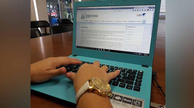 Realiza SAPA La Paz base de datos digitalizada de su infraestructura